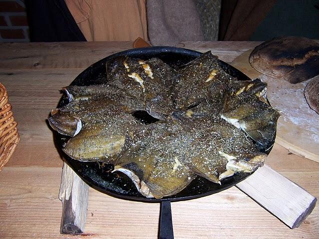 Fischgericht Turmhügelburg
