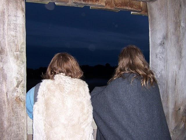 Turmhügelburg Nachtschau