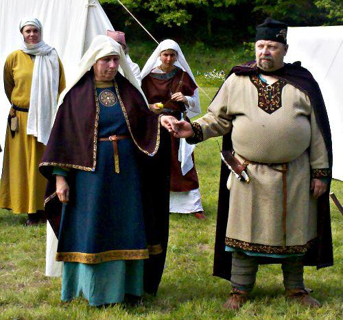 ottonische Mode Adel