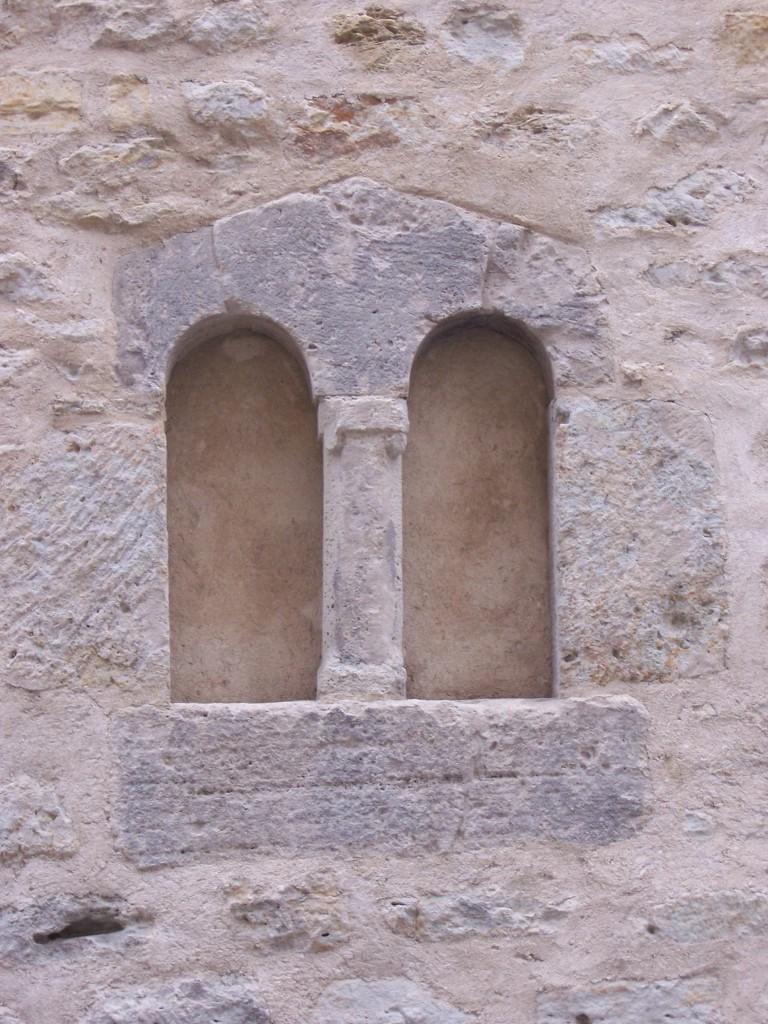 Eines der beiden Biforienfenster Rannische Str. 3
