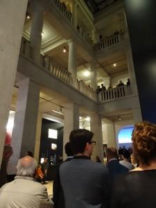 Ein volles Haus, so wird Archäologie zum Ereignis. Foto: T. Kreutzfeldt