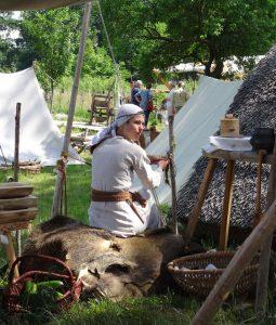 Mit slawischen Charme präsentiert sich der Freilichtteil des Heimatmuseums